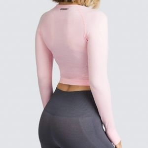 Doyoueven Air Seamless Cropped Long Sleeve
